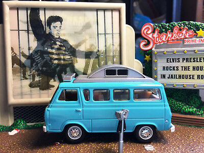 1965 Ford Econoline Camper Van Rare 1/64 Scale Collectible Diecast Model Car