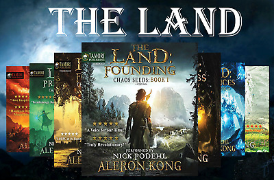 The Land Complete Audio Series 1-7 - by Aleron Kong - NO CD- MP3 Download