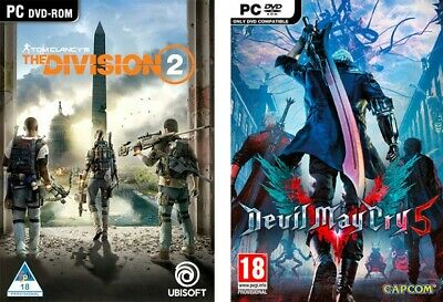 (PC) Tom Clancy's The Division 2 + Devil May Cry 5