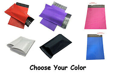 14.5x19 Poly Mailers Shipping White Black Pink Purple Red FREE PRIORITY