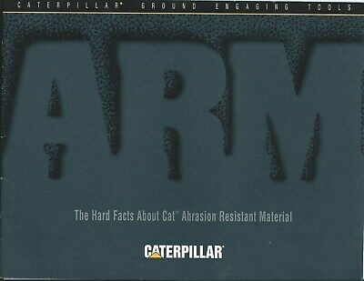 Equipment Brochure - Caterpillar Abrasion Resistant Material GET's 1994 (E5042)