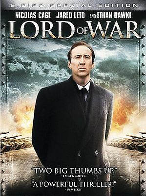 BRAND NEW DVD Lord of War (2-Disc Set) NICOLAS CAGE ETHAN HAWKE JARED LETO
