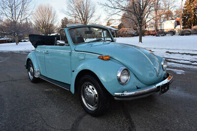 1972 Volkswagen Beetle - Classic Super Beetle BEAUTIFUL VERY RARE PAMPERED SURVIVOR 1972 VOLKSWAGEN SUPER BEETLE CONVERTIBLE
