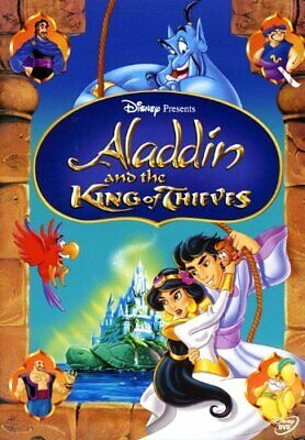 Aladdin and the King of Thieves, Very Good Disc, Robin Williams, Scott Weinger,