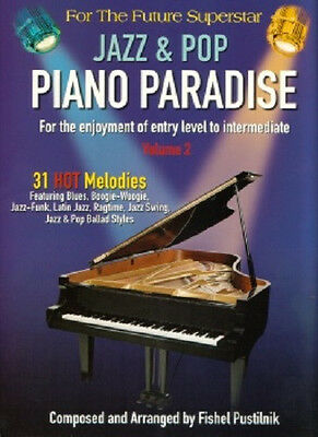 50% Off* Piano Paradise Jazz & Pop Volume 2 - 31 Songs Song Book Brand New