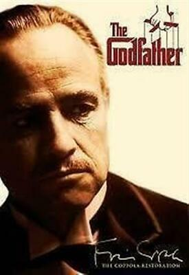GODFATHER, THE Marlon Brando, Al Pacino DVD NEW