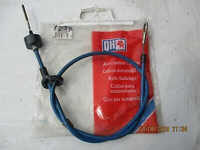 QCC1234 New Clutch Cable Renault 18 Fuego 1978-1986