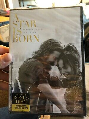 A Star is Born (DVD, 2019) New And Sealed