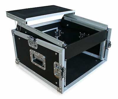 Winkelrack 6 HE/10HE Mixercase Case Notebook Laptop Rack Flightcase DJ *Retoure*