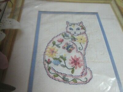 True Colors RIBBON EMBROIDERY Kit CHINA CAT Flowers, Leaves Beginner Skill Level