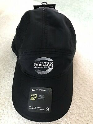 c84d6a144cd5f Nike 2018 Bank Of America Chicago Marathon Tailwind Aerobill Running Hat NWT