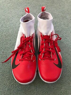 cd43b35d656 NEW Nike Vapor Untouchable Speed Turf 2 Trainer Shoes Red White 917169-103  Sz