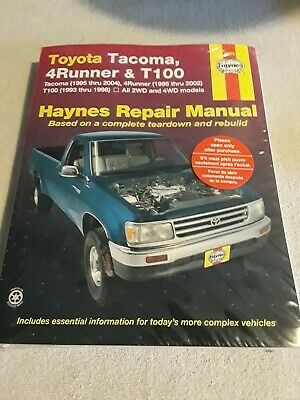 haynes manual 1998 toyota tacoma