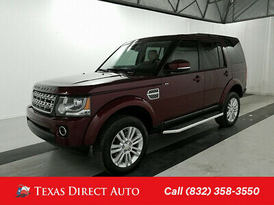 2015 Land Rover LR4 LUX Texas Direct Auto 2015 LUX Used 3L V6 24V Automatic 4WD SUV Premium