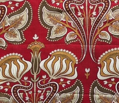 BEAUTIFUL 19th CENTURY FRENCH COTTON INDIENNE c1870-1880,  PROJECTS, 117.