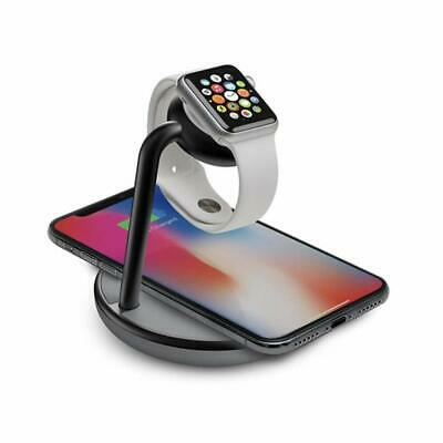 Kanex K118-1138 Go Power Watch Stand with Qi Charging - Space Gray™