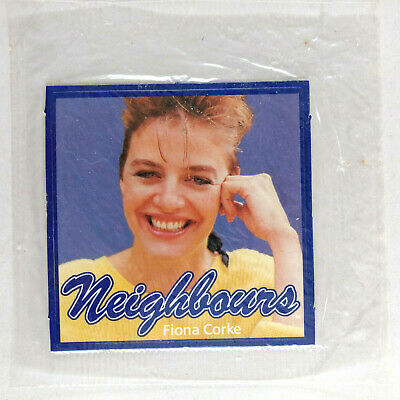 1987 Doritos Neighbours Lucky Letters FIONA CORKE STICKER NEW IN PACK