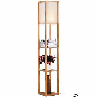 1a241d0aee865 BRIGHTECH MAXWELL - LED Shelf Floor Lamp - Modern Standing Light for ...