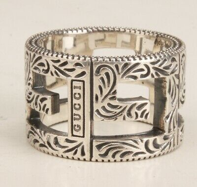 China Silver Hand Carving Ring Jewelry Gift Collection