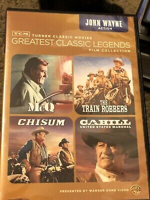 Silver Screen Icons: John Wayne- Action (DVD, 2013, 4-Disc Set)