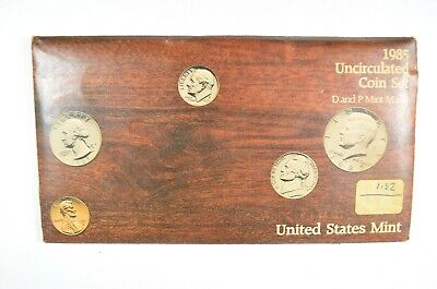 1985 United States Mint P&D Uncirculated Coin Set (b567.31)