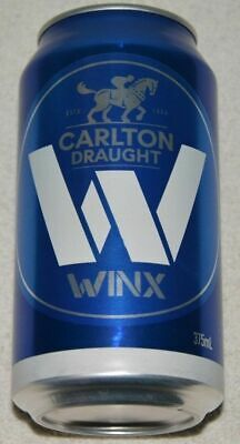Winx Limited Edition Collectable Cox Plate Carlton Draught Can (Empty)