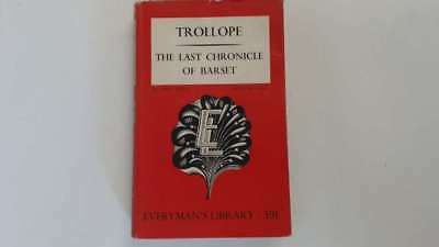 Acceptable - The Last Chronicle of Barset. - ANTHONY TROLLOPE 1951-01-01   Dent