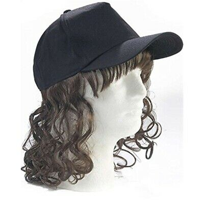 Creative Collection Billy-ray Hat And Hair Black - Billy Baseball Cap Ray Bob