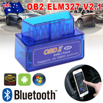 ELM327 OBD2 OBDII Bluetooth Car Scanner Torque Android CAN BUS Scan Auto Tool