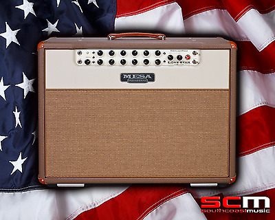 """Mesa Boogie Lone Star Special Class A 2x12"""" Electric Guitar Combo Amplifier"""
