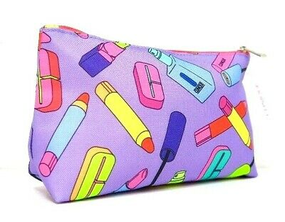 Clinique Multi-Coloured  Illustrated Makeup/Cosmetics/Travel Bag - New With Tag