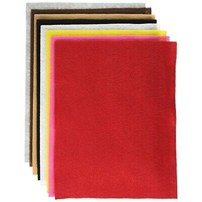 "Felt Fun Pack 9""x12""-assorted Colors"