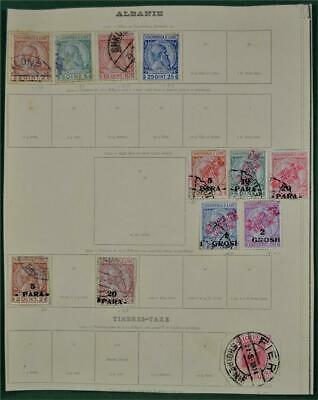 Albania Stamps Selection On 1 Page  (W3)