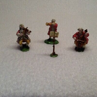 12th scale dolls house Trio Orchestra Figures Stunning