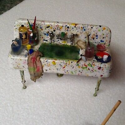 12th scale Dolls house sink with all the bits and pieces