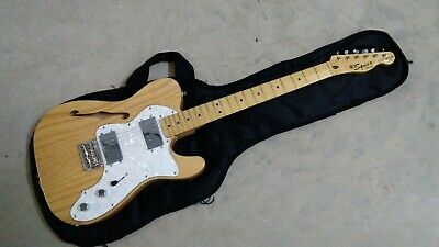 Fender Squier Vintage Modified '72 Telecaster Thinline Electric Guitar Natural