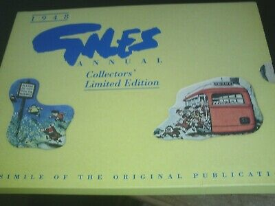 1948 Giles Annual Collectors Limited Edition Facsimile in sleeve