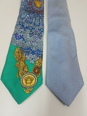 Versace Marinella cravatte vintage collection Ties Versace Marinella vintage
