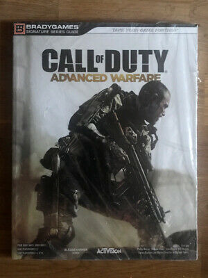 Call of Duty Advanced Warfare Guide officiel Neuf modern PS4 PS3 Xbox One 360 PC