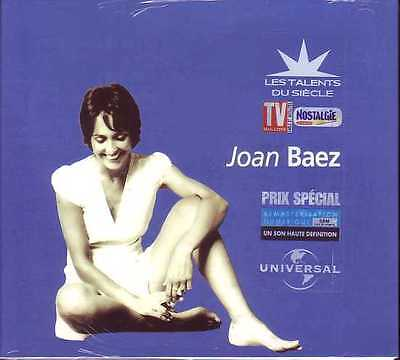 ☆ CD Joan BAEZ  Les talents du siecle - Digipack -  NEW SEALED  ☆