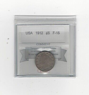 **1912** USA, Liberty Head, Five Cent Nickel,