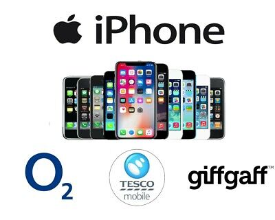 O2 Unlock Service For Iphone 6 6S 6S Plus - O2 Tesco Giffgaff Fast 24/72 Hours