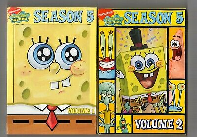 SpongeBob SquarePants: The Complete 5th Season  Vol 1 & 2 (4-DVD Set)