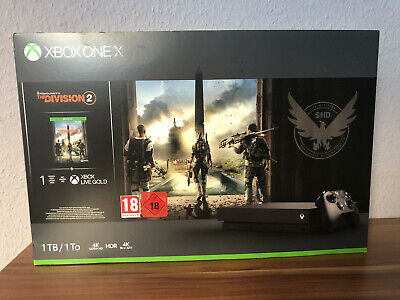 MICROSOFT Xbox One X 1TB Konsole - The Division 2 Bundle
