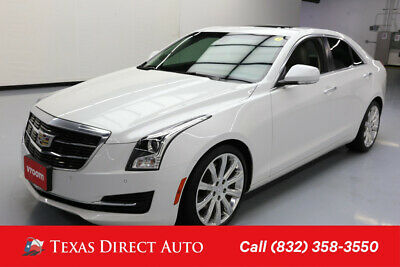 2016 Cadillac ATS Luxury Collection RWD Texas Direct Auto 2016 Luxury Collection RWD Used Turbo 2L I4 16V Automatic RWD