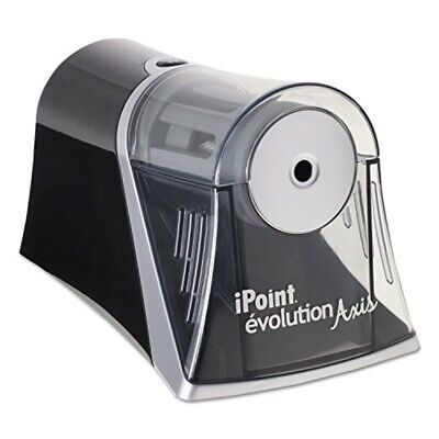 Westcott Ipoint Evolution Axis Electric Pencil Sharpener-black, Moderate Use
