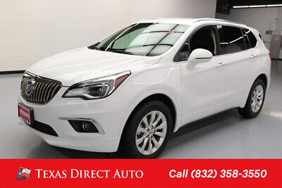 2017 Buick Envision Essence Texas Direct Auto 2017 Essence Used 2.5L I4 16V Automatic FWD SUV OnStar