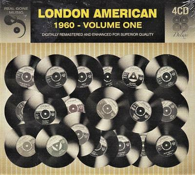 London American 1960 - Volume One - Various Artists (New Sealed 4Cd)
