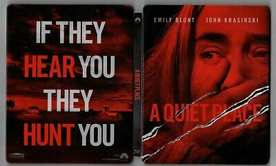 A Quiet Place (BLU-RAY/DVD/NO DIGITAL) Best Buy Exclusive STEELBOOK FREE SHIP