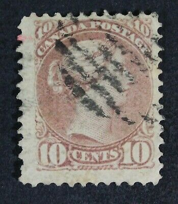CKStamps: Canada Stamps Collection Scott#40 Victoria Used CV$90